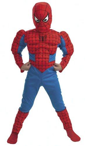Cesar H947-013 - Spider-Man mit Muskeln Größe 152 (Größeninformation auf Verpackung: 12-14 years, T 5, 156 cm)