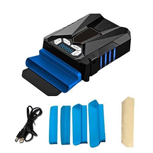 Tragbare Gaming Laptop-Kühler Kühlung, schneller und USB, einstellbarer Windgeschwindigkeit (4500rpm) 2000–mit verschiedenen Größe 14Zoll, 17Zoll Laptop/Notebook (Schaum Spülen)
