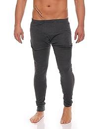 Thermo Unterwäsche Set Hemd/Hose oder 2 Stück Lange Thermo-Unterhemden oder Thermo-Unterhosen angeraut anthrazit oder grau Grössen 5 bis 10 lieferbar -tolle Skiunterwäsche für Herren