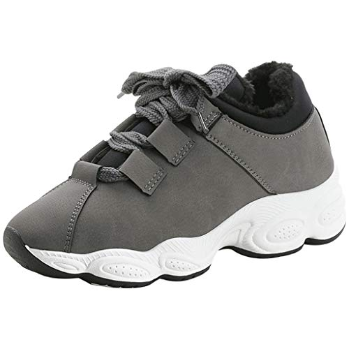Frenchenal Chaussures Bottes Hiver De Neige Femme Boots Fourrees Bottines Mode Courts avec Doublure Chaude