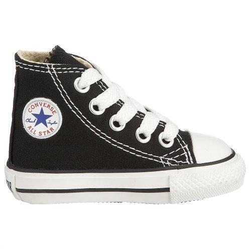 Converse Chuck Taylor All Star Core Hi, Baskets mode mixte enfant Noir