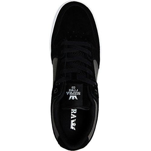 Shoes Supra Vaider LC Grey/White–White Grau - grau