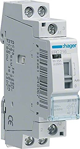 Hager–ERC216–Relais-Fernbedienung, 16A, 2Na, 230V