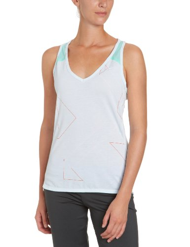 Nike, Canottiera Donna Tailwind, Verde (tropical twist/reflective silver), XL