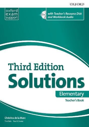 Solutions 3rd Edition Elementary. Teacher's Book (Solutions Third Edition)
