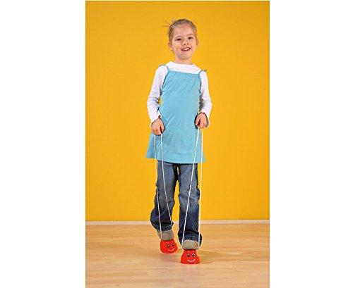 1 Paar Laufdollies aus Kunststoff, Topfstelzen Kinder Laufstelzen Spiele Bewegungsspiele Kindergarten Kindergeburtstag