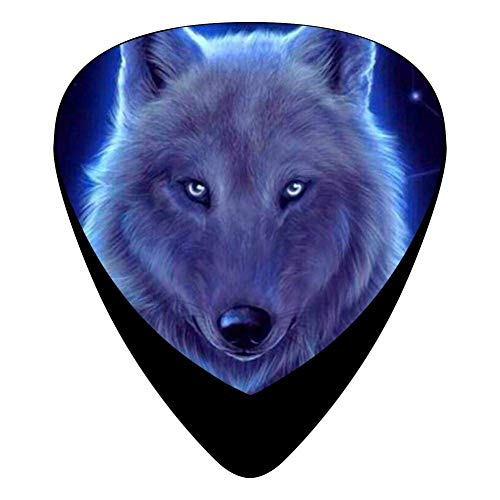 Medium Thin Cross (Cool Cross Wolf Fender Celluloid Guitar Picks 3D Printed 12 Pack Thin Medium Heavy Gauges For Musician)