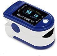 DELIPOP Ossimetro da Dito Display OLED, Pulsossimetro per Il Monitoraggio della Saturazione di Ossigeno nel Sangue e del Bat