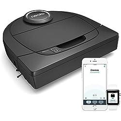 Neato Robotics D502 Connected - Compatible avec Alexa - Robot aspirateur avec station de charge, Wi-Fi & App
