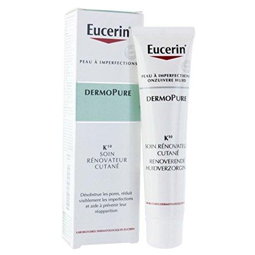 Eucerin Dermo Pure K10 Renoverende Huidverzorging Creme Unreine Haut 40ml