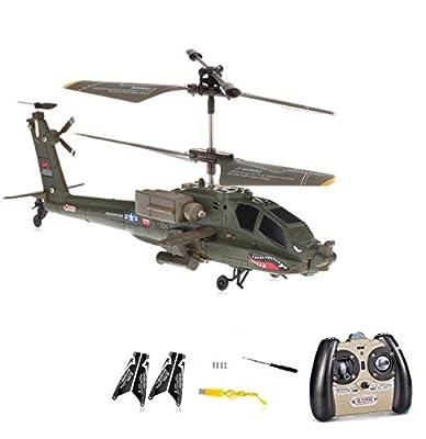 3.5 Kanal RC ferngesteuerter mini Militär Hubschrauber Tiger UHT,neueste Gyro Technik und Crash-Kit