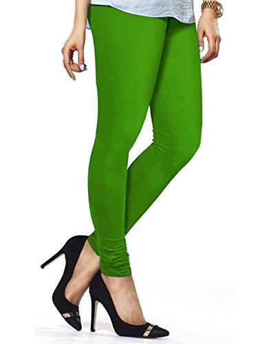 Cotton Fabric Strechable High Quality Choridar Legging Shemrock Green (XL)