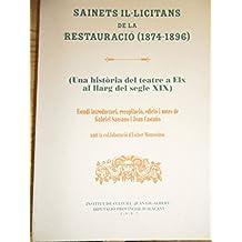 Sainets il-licitans de la restauracio, 1874-1896