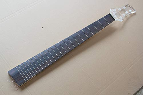 6 cuerdas bajo eléctrico cabezal plexiglás diapasón