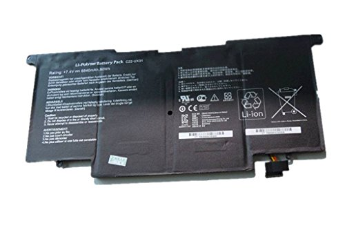 BPXLaptop Battery C22-UX31 (50Wh 7.4v) for ASUS C22-UX31 C23-UX31 ZenBook UX31A UX31E Ultrabook