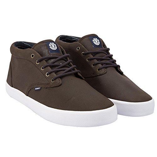 Element Preston, Herren Hohe Sneakers walnut-ind
