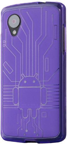 Google LG Nexus 5 Cruzerlite Bugdroid Circuit Case for LG Nexus 5 - Purple