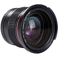 Beschoi Objectif Fisheye 58mm 0.35x Lentille Grand Angle avec Bouchon d'Objectif pour Canon EOS 700D 650D 600D 550D 500D 450D 400D 300D 100D 1000D 1100D Nikon Sony Pentax Sigma et d'Autres Appareils Photo Reflex