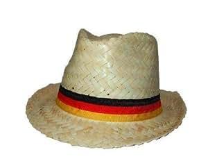 Strohhut Deutschland FanHut Fussbalfans