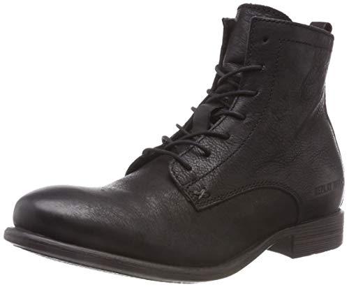 Replay Herren Edmund Biker Boots, Schwarz (Black 3), 44 EU