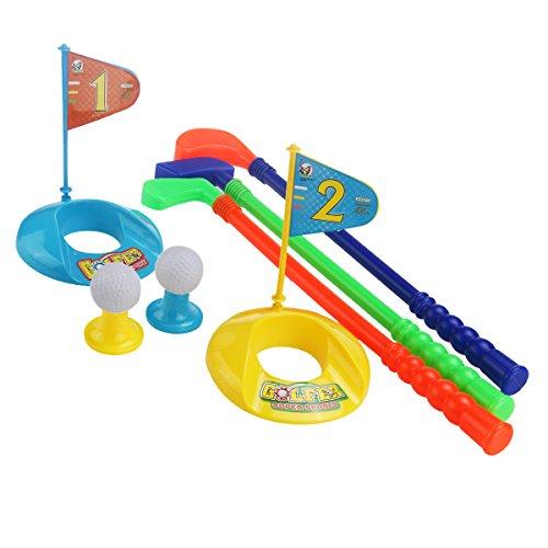 rosenice Set von Golf Sport Spiele im Freien Spielzeug für Kinder