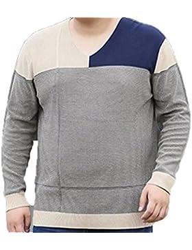 Manga Larga De Gran Tamaño Con Capucha De Los Hombres De Punto Suéter Jersey Suéter De Invierno Más Caliente