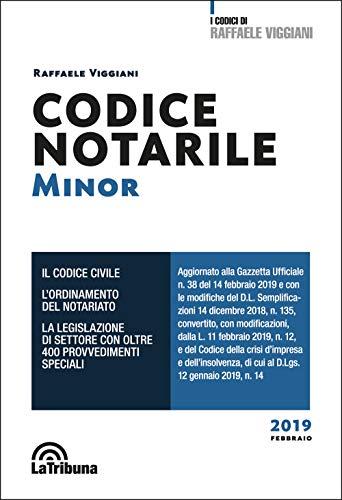 Codice notarile. Ediz. minor