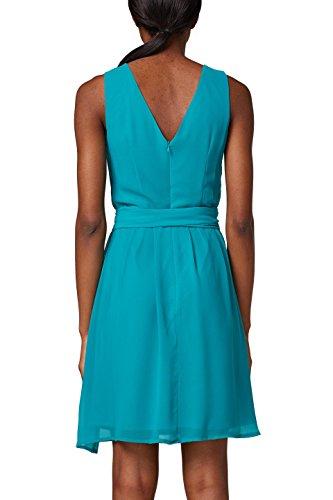 ESPRIT Collection Damen Partykleid Grün (Teal Green 370)