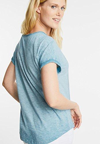 CECIL Damen Shirt mit Foto Print blue topaz (blau)