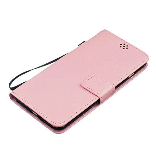 iPhone Case Cover Haute Housse en cuir Premium Quality PU Cover Solid Color Dandelion gaufrage Wallet Support couverture pour iPhone6 ​