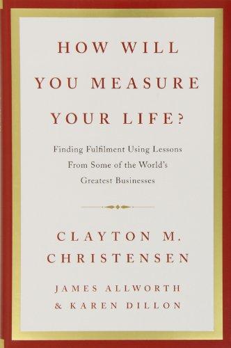 Buchseite und Rezensionen zu 'How Will You Measure Your Life?' von Clayton M. Christensen