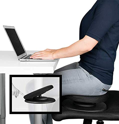 SWEDISH POSTURE BALANCE CORE TRAINER für aktives Sitzen | Sitzauflage für Bürostuhl |...