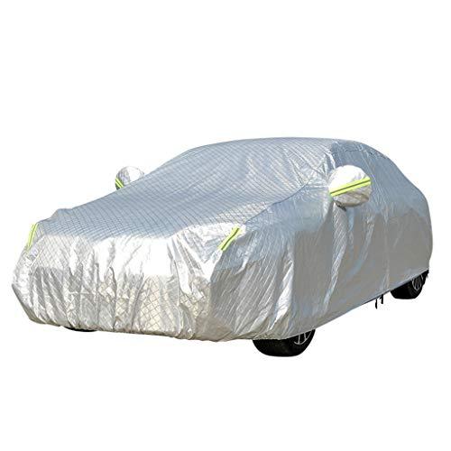 Autoabdeckung wasserdicht / schneesicher / sonnenbeständig / staubdicht / winddicht kratzfest Passend for BMW 1er / 3er / 5er / 7er / 525Li / X1 / X3 / X6 / X5 Außenbereich Innenbereich Graue Aluminiu