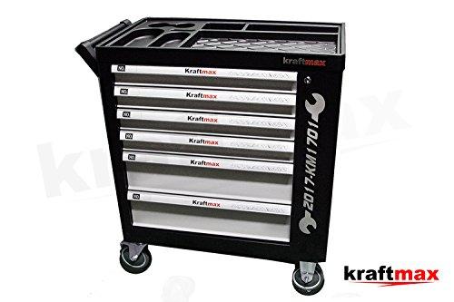 Preisvergleich Produktbild Kraftmax Werkzeugwagen / Werkstattwagen 159tlg. gefüllt Werkzeug Werkstatt