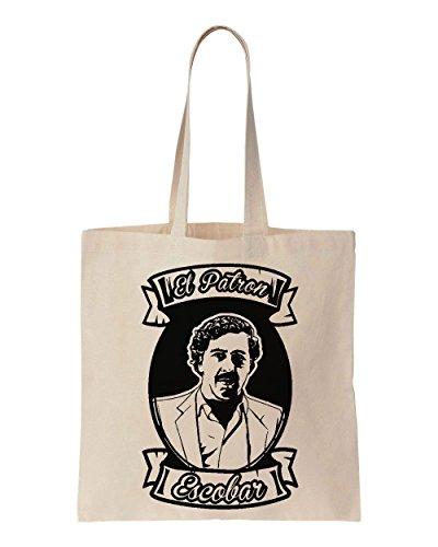 pablo-escobar-el-patron-cotton-canvas-tote-bag