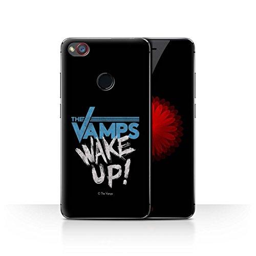 Offiziell The Vamps Hülle / Case für ZTE Nubia Z11 Mini / Aufwachen! Muster / The Vamps Graffiti Band Logo Kollektion