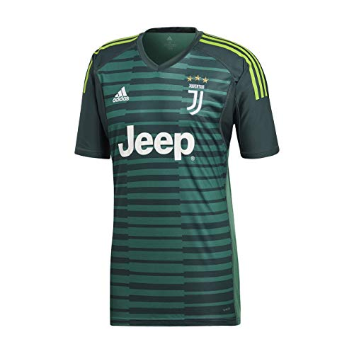 81968aa150a adidas Juve Gk T- T-Shirt Homme, Mineral Tech Forest/Semi Solar