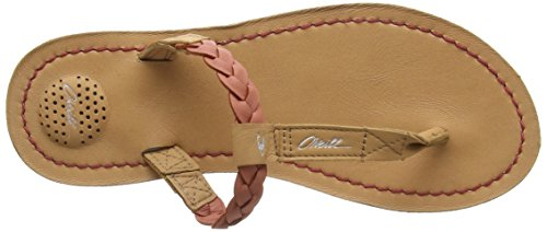 O'Neill Venice Crust Leather - Tongs Femme Orange (Apricot Brandy)