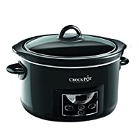Crock-Pot Digital Countdown Slow Cooker, 4.7 Litre - Gloss Black