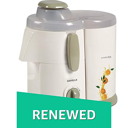 (Renewed) Havells Endura GHFJMATI050 500-Watt Juicer (Red/White)