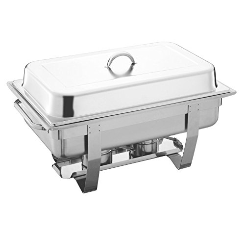 ing Dish - 13.5L (Double Food Pan) by SQ Professional (Chafing Dish Pan)