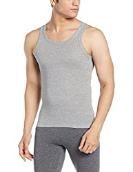 Force NXT Mens Cotton Vest (8902889608761_MNFR-231_X-Large_Grey Melange)