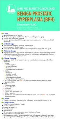 J & B Clinical Card: Benign Prostatic Hyperplasia (BPH)
