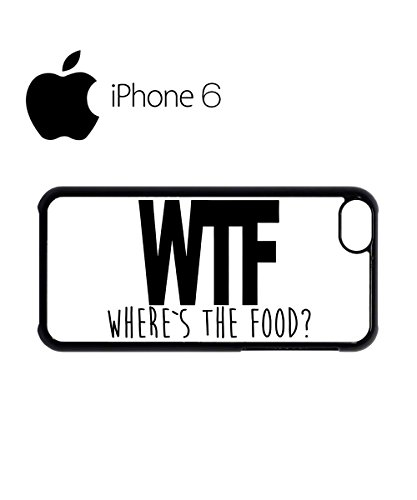 WTF Where is the Food Swag Mobile Phone Case Back Cover Hülle Weiß Schwarz for iPhone 6 White Weiß