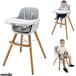 Chaise haute évolutive LUNA 2 en 1 - Nania