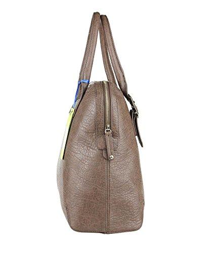 Versace, Borsa a tracolla donna Marrone marrone 42x33x16 cm (BxHxT) marrone