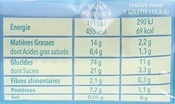Gerblé Galettes Maïs Chocolat Lait 124 g