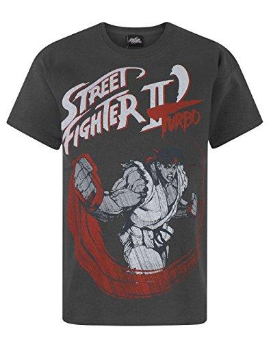 Street Fighter -  T-shirt - T-shirt con stampe - Maniche corte  - ragazzo Charcoal 13-14 Anni