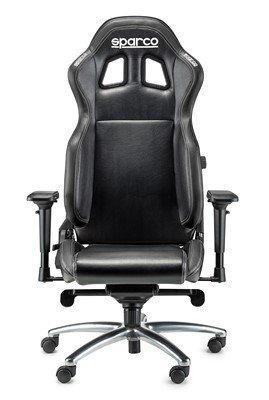 Preisvergleich Produktbild Sparco 00975NRNR Bürostuhl R100S, Schwarz
