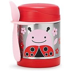 Skip Hop Zoo Ladybug - Termo para alimentos y tenedor-cuchara